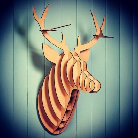 Oh deer! Wall decor