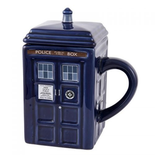 Doctor Who Tardis Kupa